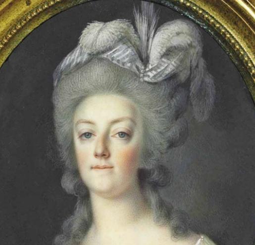 Portraits de Marie-Antoinette et Louis XVI, par Louis-Marie Sicard, dit Sicardi ou Sicardy Captu174