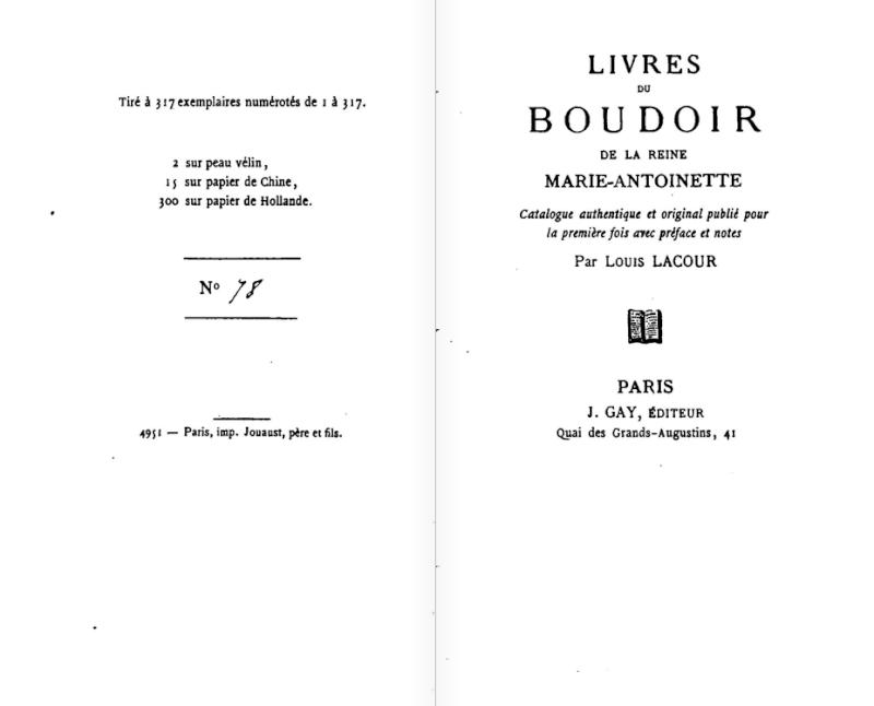Les livres de la bibliothèque de Marie-Antoinette au Petit Trianon Captur17