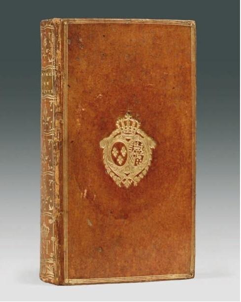Les livres de la bibliothèque de Marie-Antoinette au Petit Trianon Captur24