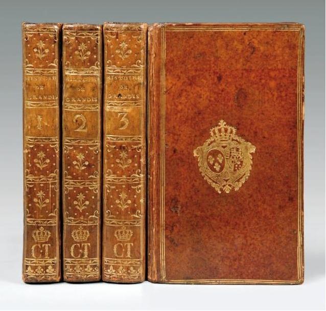Les livres de la bibliothèque de Marie-Antoinette au Petit Trianon Captur29
