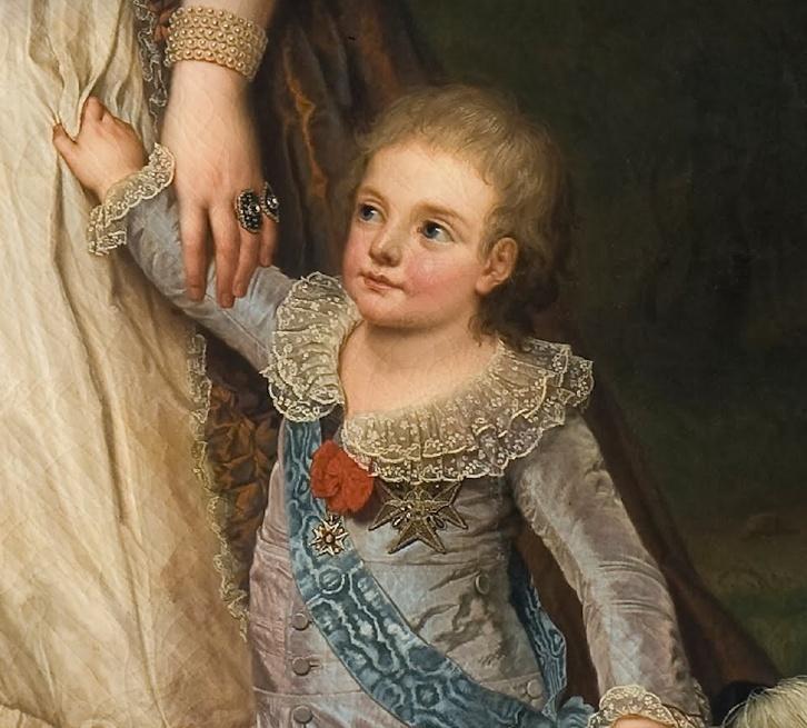 Portraits du dauphin Louis-Joseph de France Captur45
