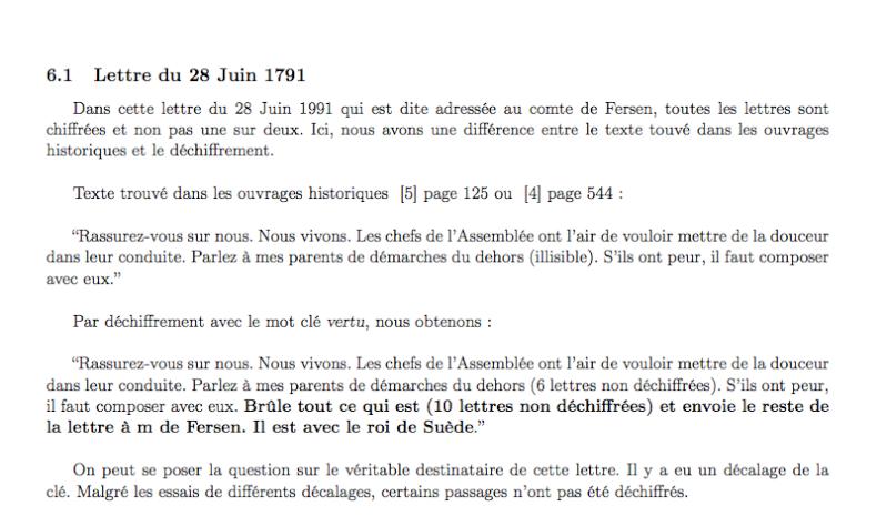 FERSEN - La correspondance de Marie-Antoinette et Fersen : lettres, lettres chiffrées et mots raturés - Page 14 Captur61