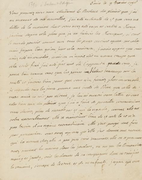 Les lettres de Marie-Antoinette à Madame de Polignac - Page 4 Captur64