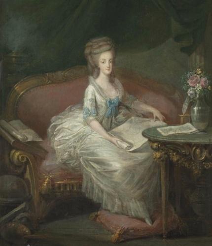 Portraits de Marie-Antoinette attribués aux Gautier Dagoty (ou d'après). Captur75
