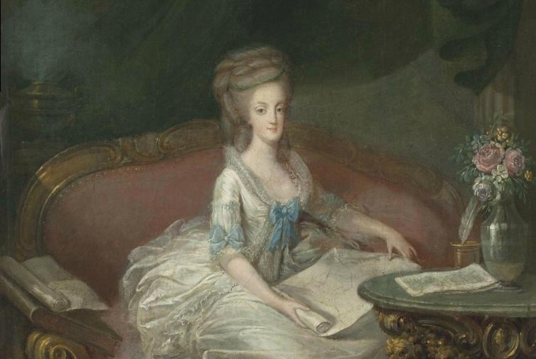 Portraits de Marie-Antoinette attribués aux Gautier Dagoty (ou d'après). Captur76