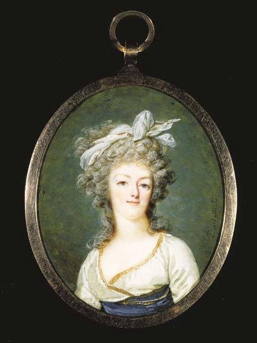 Marie Antoinette, miniatures attribuées à ou d'après François Dumont - Page 2 Captur81