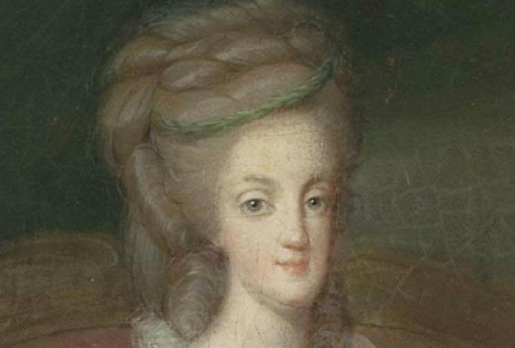 Portraits de Marie-Antoinette attribués aux Gautier Dagoty (ou d'après). Captur82