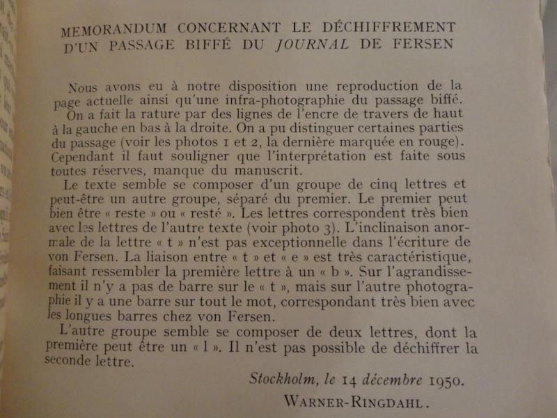 Marie-Antoinette et Fersen : un amour secret - Page 2 Dsc02113