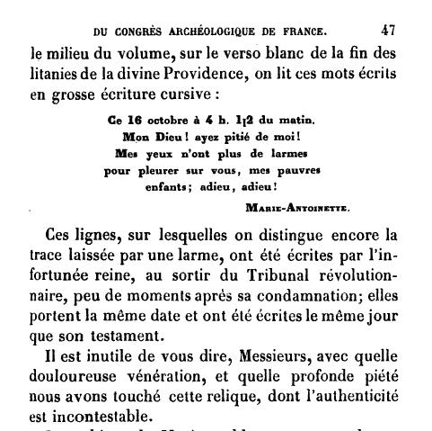 billet - Le billet du 16 octobre 1793 attribué à la reine  Image_25