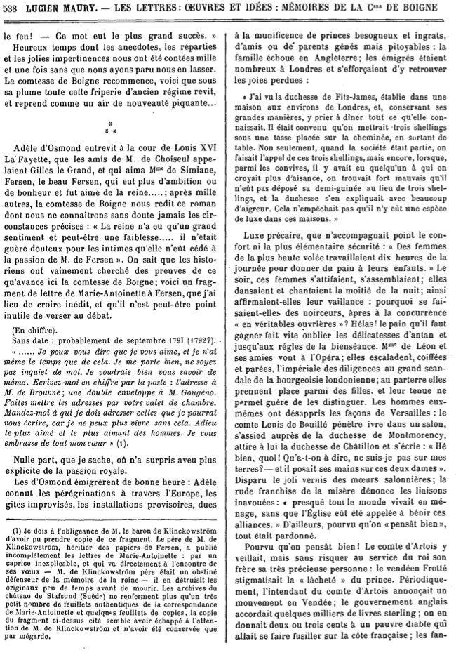 Marie-Antoinette et Fersen : un amour secret Image_33