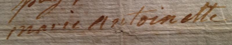 billet - Le billet du 16 octobre 1793 attribué à la reine  Image_34