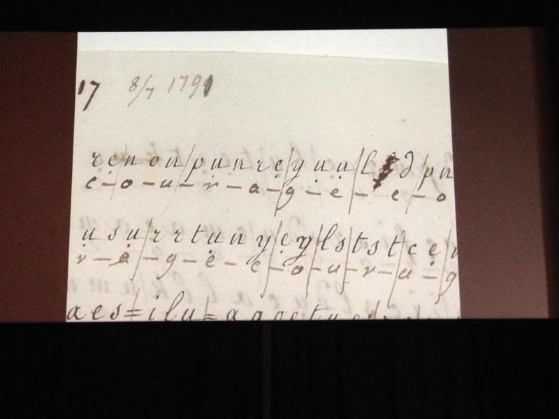 La correspondance de Marie-Antoinette et Fersen : lettres, lettres chiffrées et mots raturés Img_0219