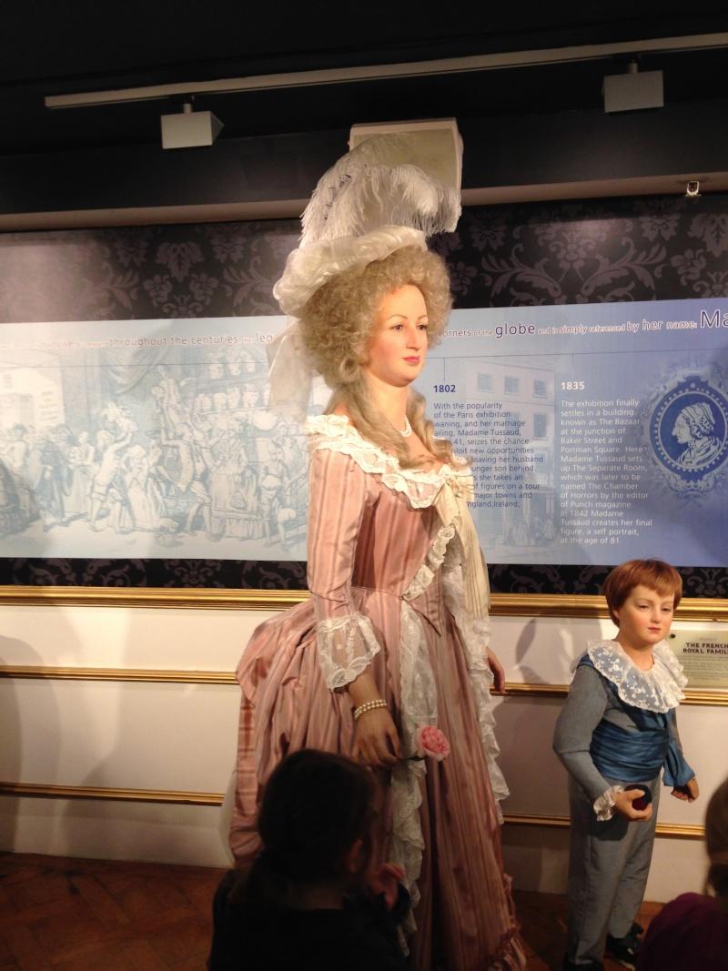 Marie Antoinette, chez Madame Tussaud Img_0411