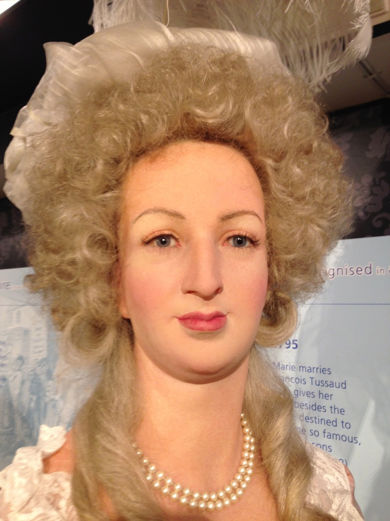 Marie Antoinette, chez Madame Tussaud Img_0412