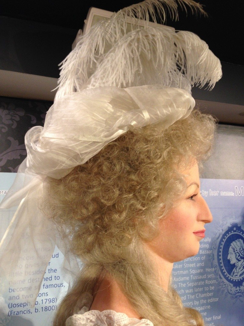 Marie Antoinette, chez Madame Tussaud Img_0414