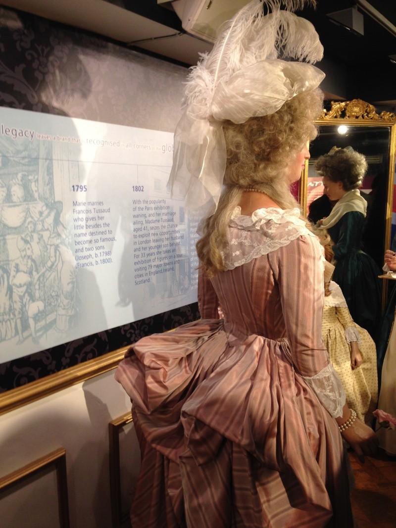 Marie Antoinette, chez Madame Tussaud Img_0415