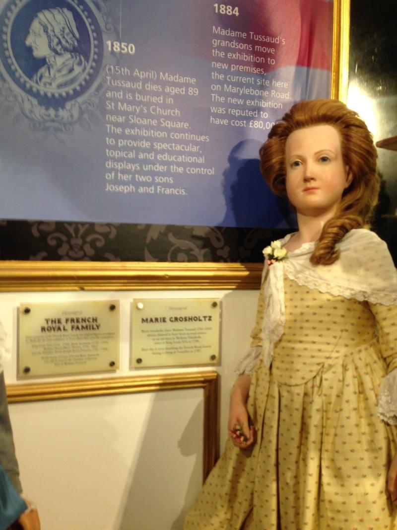 Marie Antoinette, chez Madame Tussaud Img_0416