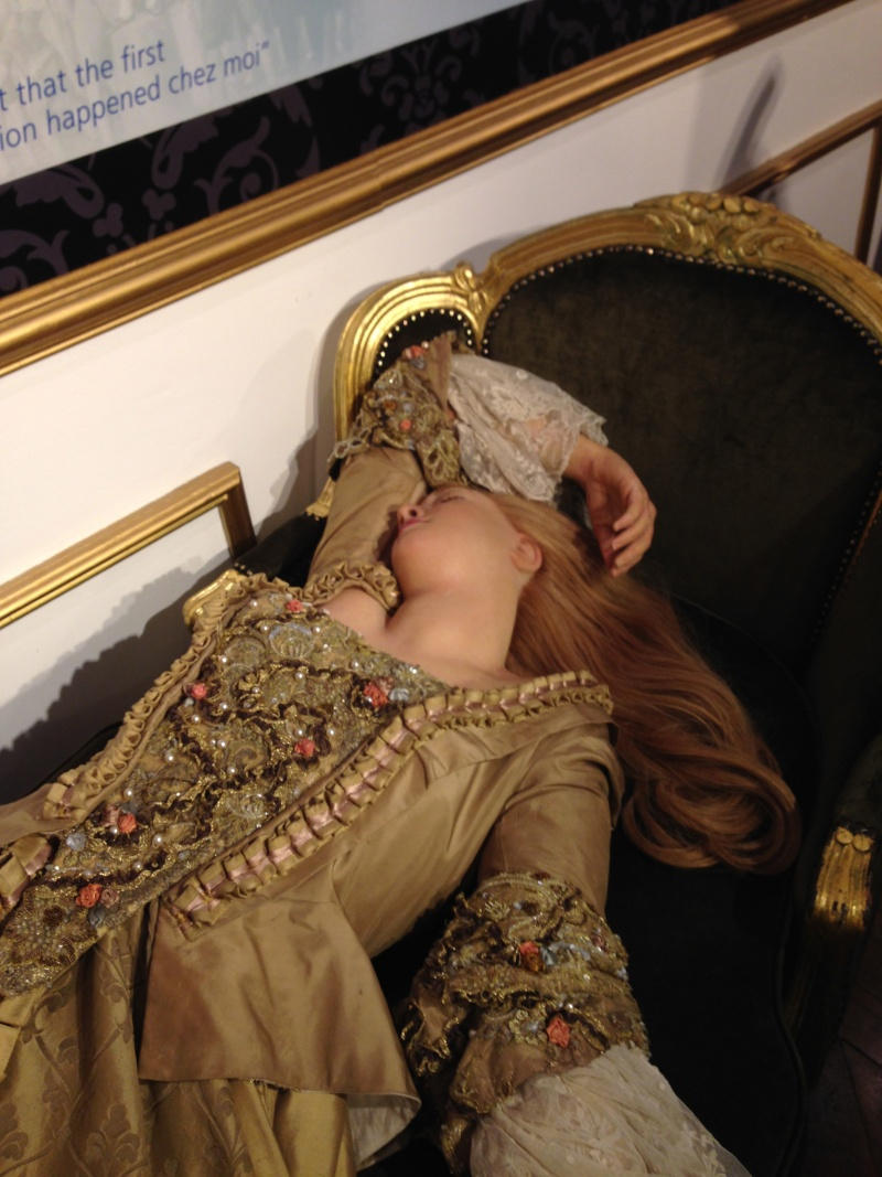 Marie Antoinette, chez Madame Tussaud Img_0418