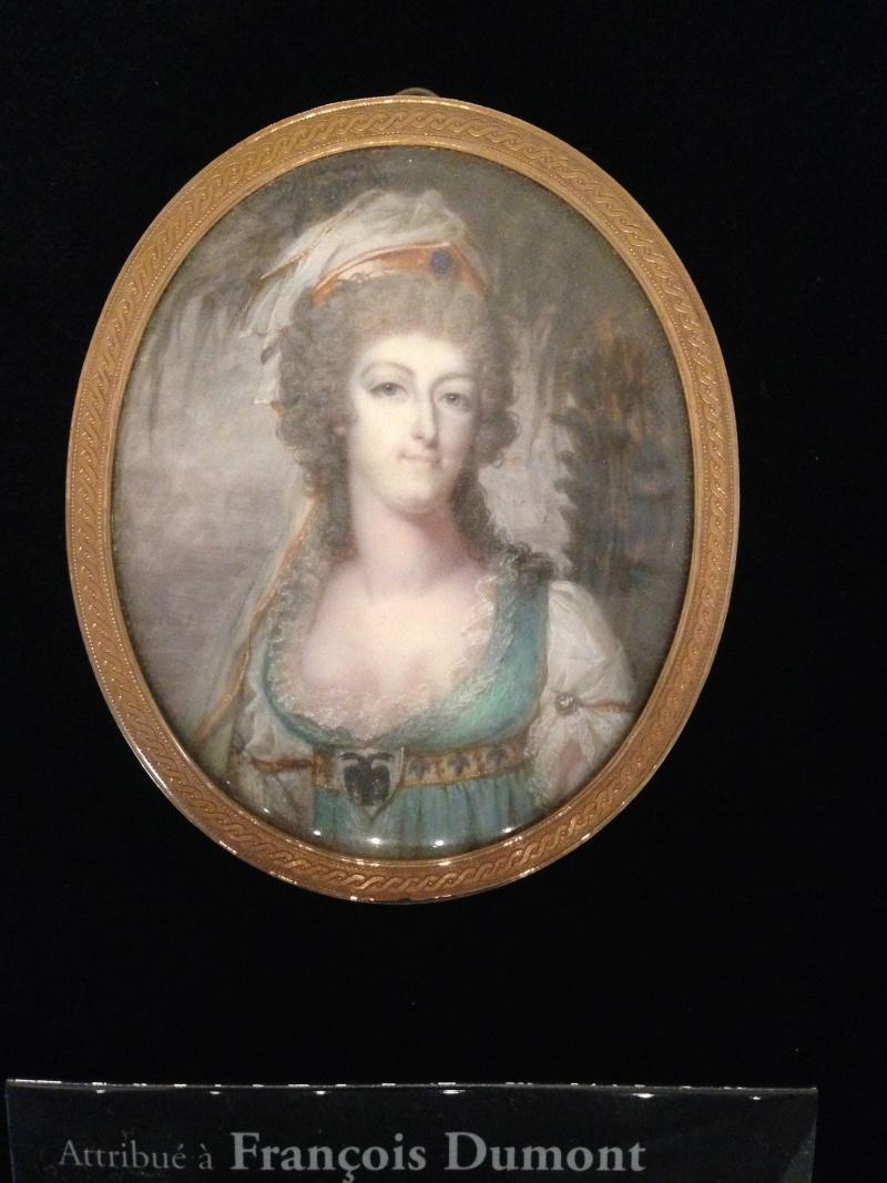 Dumont - Marie Antoinette, miniatures attribuées à ou d'après François Dumont Img_1010
