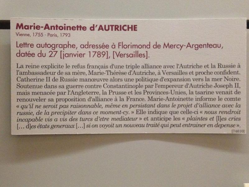 La correspondance de Marie-Antoinette avec le comte de Mercy-Argenteau - Page 2 Img_1213