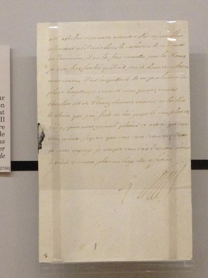 Lettres autographes et écrits de Louis XVI Img_1220