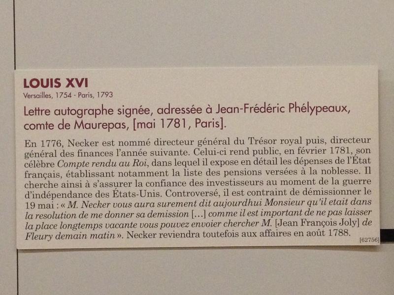 Lettres autographes et écrits de Louis XVI Img_1221