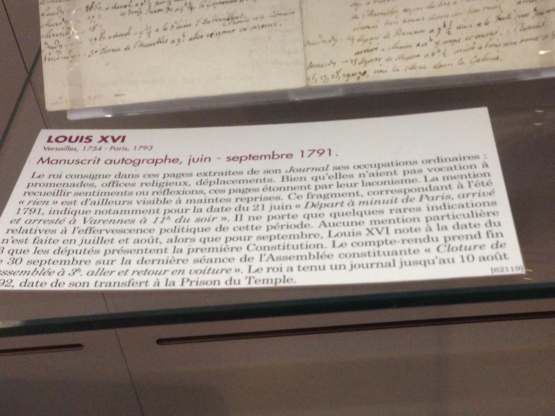 Lettres autographes et écrits de Louis XVI Img_1224