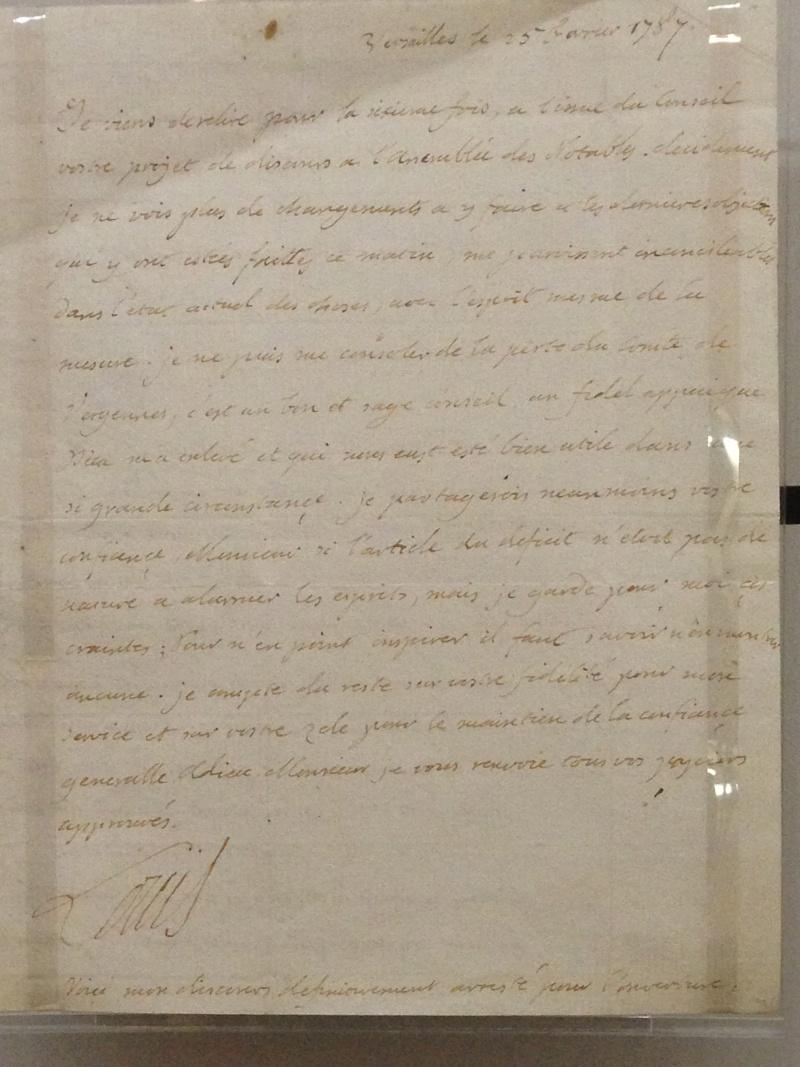 Lettres autographes et écrits de Louis XVI Img_1225