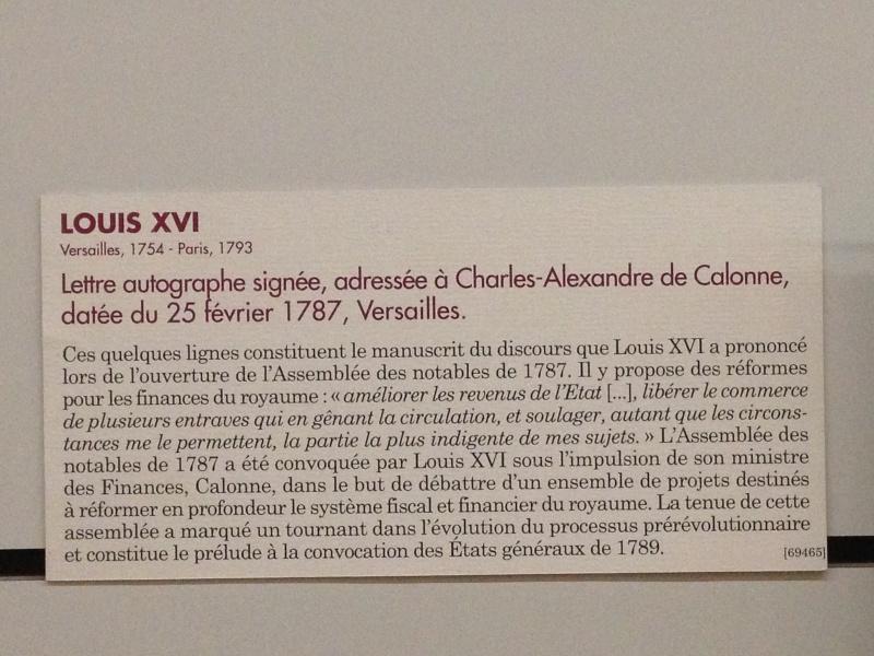 Lettres autographes et écrits de Louis XVI Img_1226