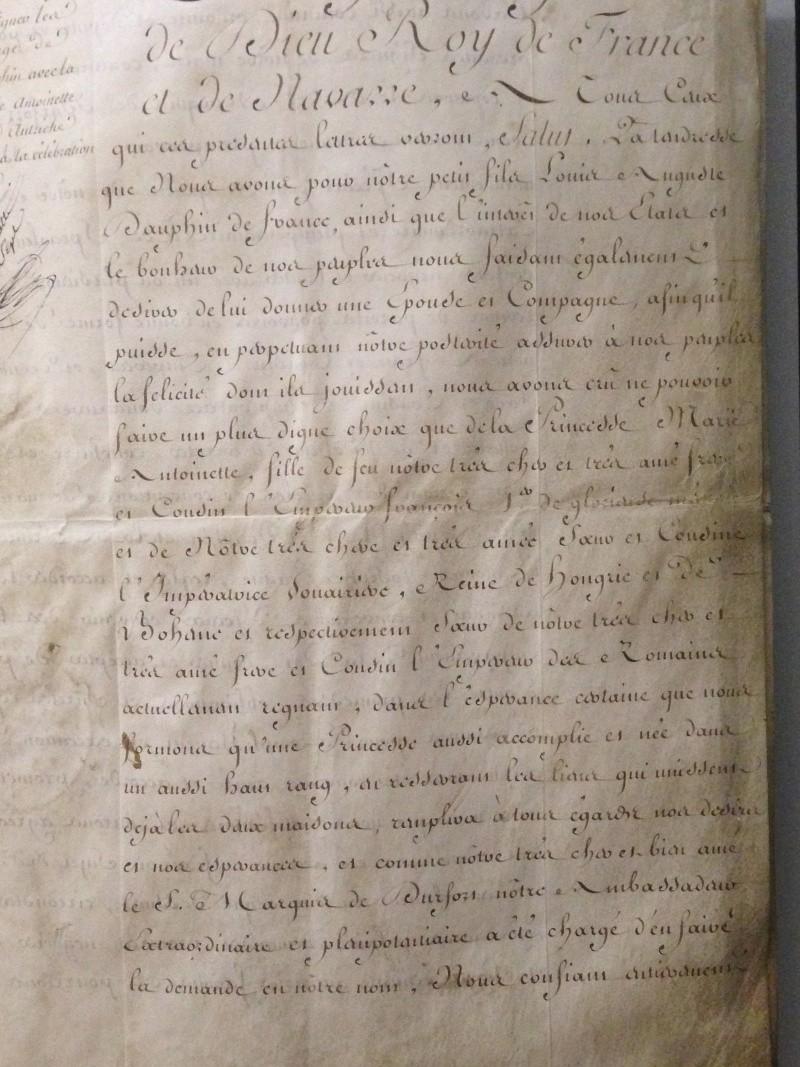 Le mariage de Louis XVI et Marie-Antoinette  - Page 2 Img_1233