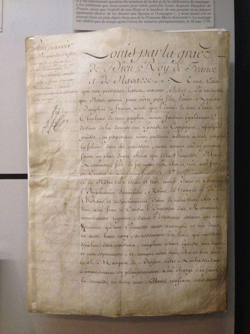 Le mariage de Louis XVI et Marie-Antoinette  - Page 2 Img_1235