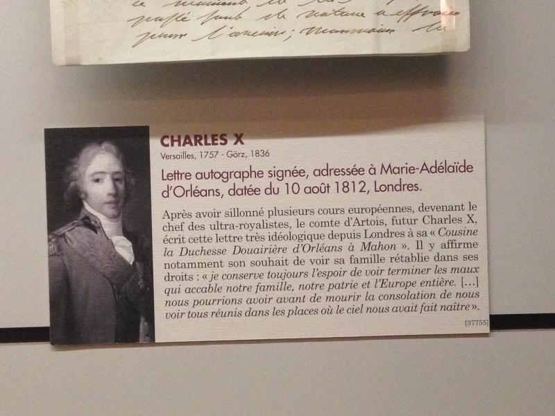 Le comte Charles-Philippe d'Artois, futur Charles X Img_1238