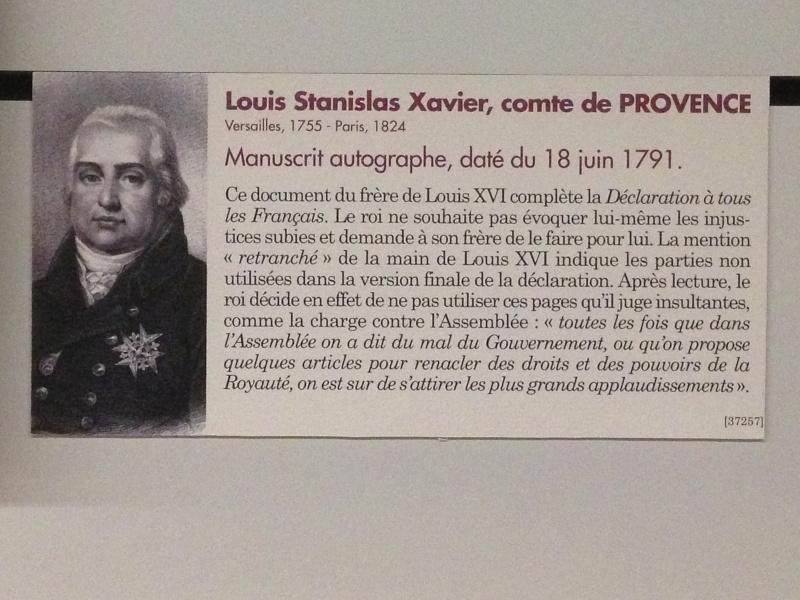 Louis-Stanislas, comte de Provence, et futur roi Louis XVIII - Page 2 Img_1251
