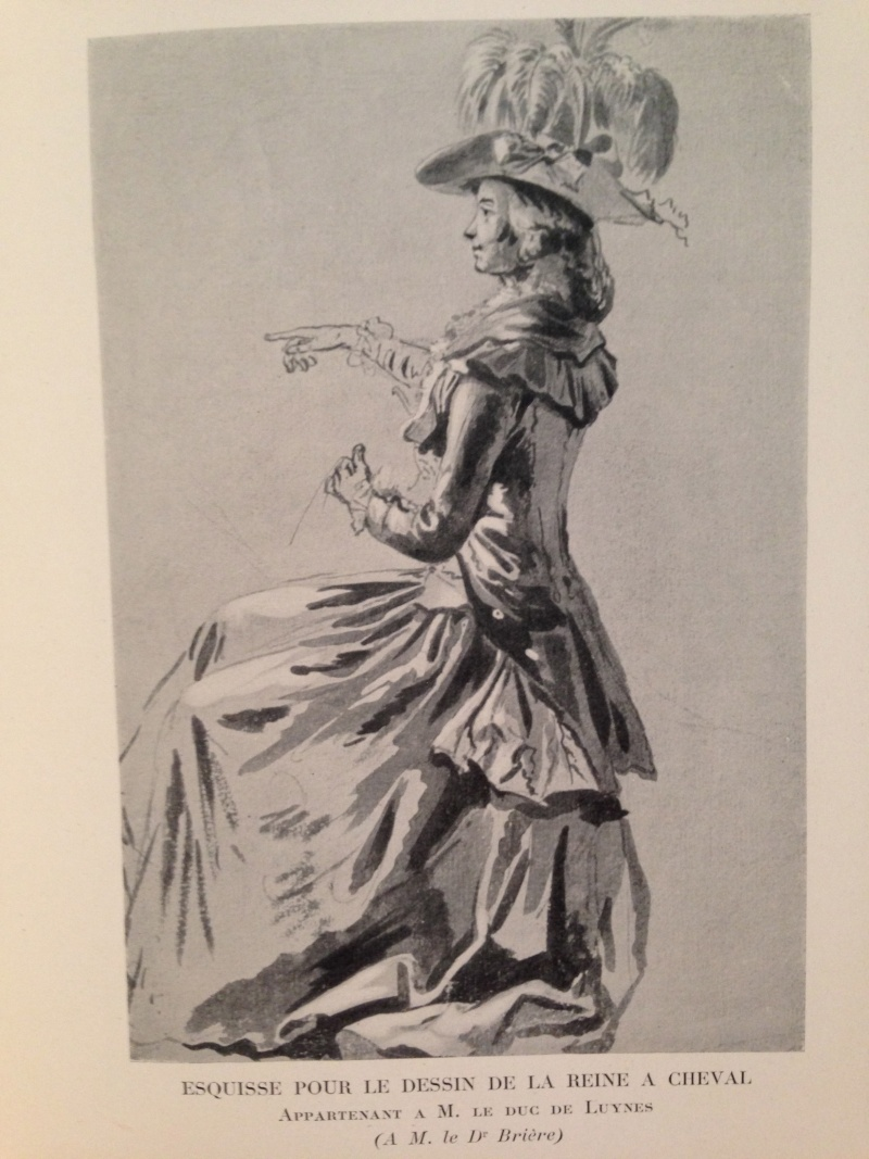 Louis-Auguste Brun, portraits de Marie-Antoinette en tenue de chasse Img_1331