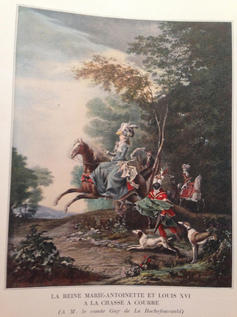 Louis-Auguste Brun, portraits de Marie-Antoinette en tenue de chasse Img_1333