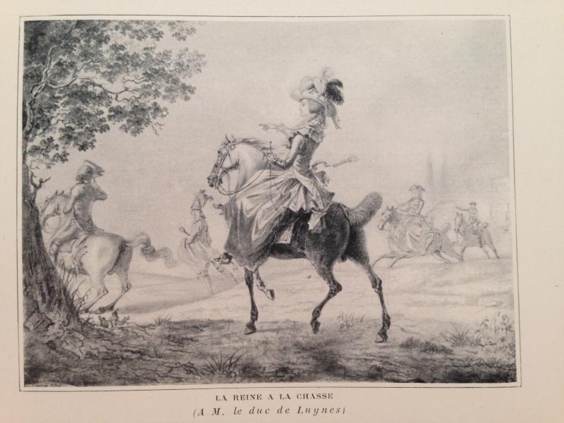 Louis-Auguste Brun, portraits de Marie-Antoinette en tenue de chasse Img_1334