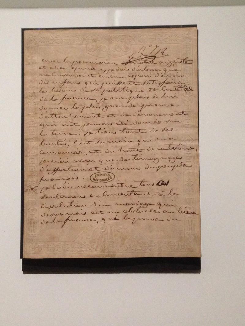 Exposition «Joséphine»  au Musée du Luxembourg - Page 2 Img_1415