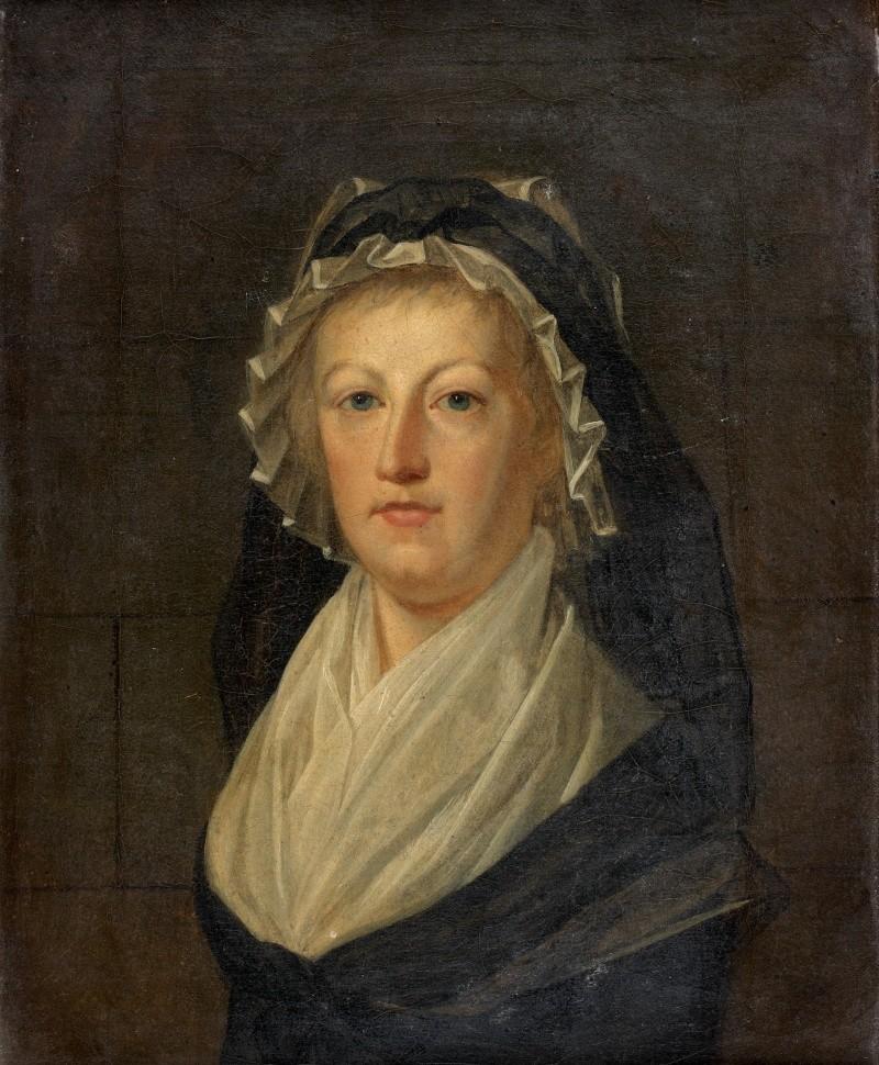 Marie-Antoinette en deuil, par Kucharsky (1793) Img_1810