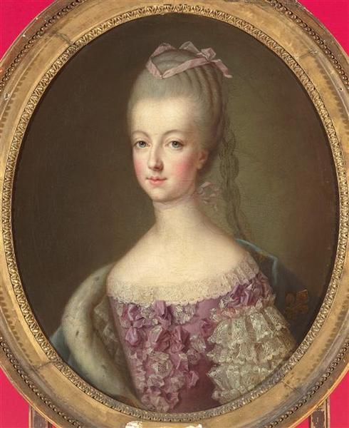 Portraits de Marie-Antoinette par et d'après François-Hubert Drouais M5077010