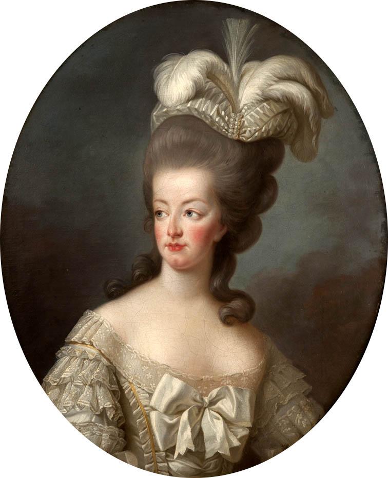Marie-Antoinette en buste par et d'après Mme Vigée-Lebrun (1778) Marier10