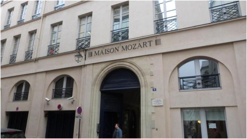 Mozart, ses visites à Paris et Versailles Paris_10