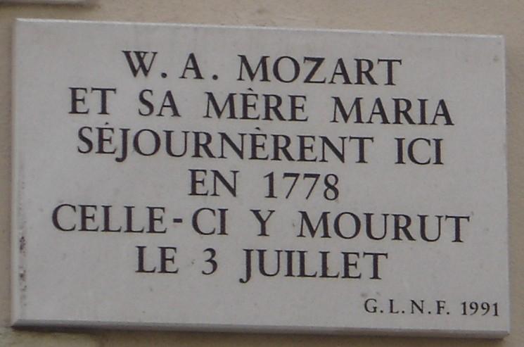 Mozart, ses visites à Paris et Versailles Parism10
