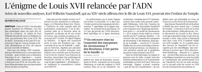 Naundorff, un descendant Bourbon ?... Louis XVII ?? Snapsh10