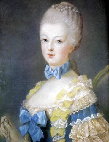 Premiers portraits de Marie-Antoinette par J. Ducreux (et d'après)