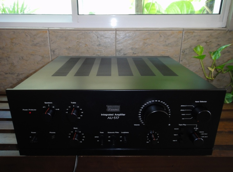 Sansui AU 517 Amplifier (SOLD) Sansui11