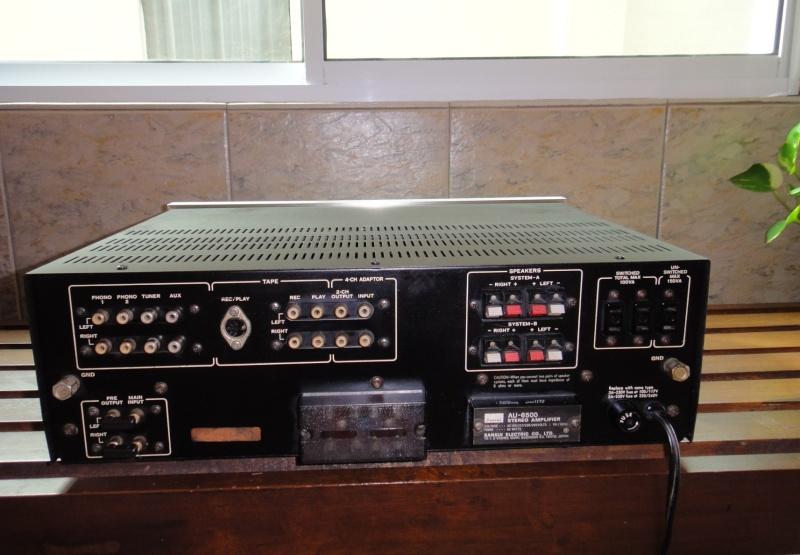 Vintage Sansui AU 6500 (SOLD) Sansui12