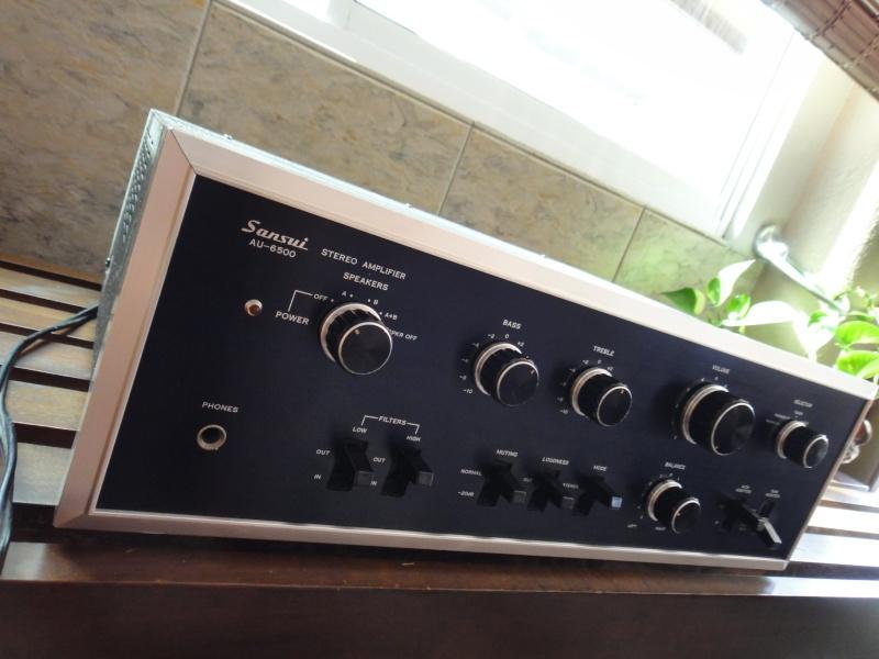 Vintage Sansui AU 6500 (SOLD) Sansui13