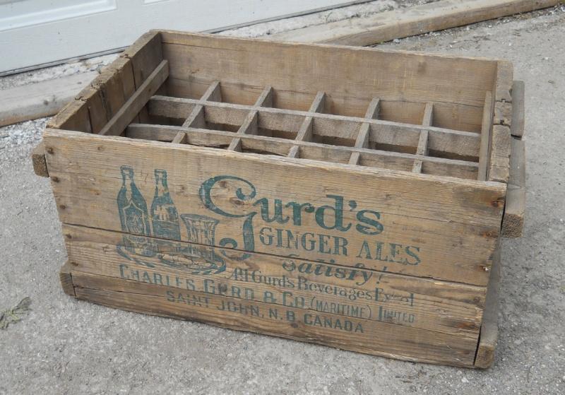 À vendre - Caisse de bois Gurd's datée 1929 Gurds11