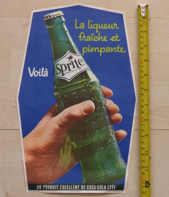 Annonce en papier Sprite de 1962 Sprite10