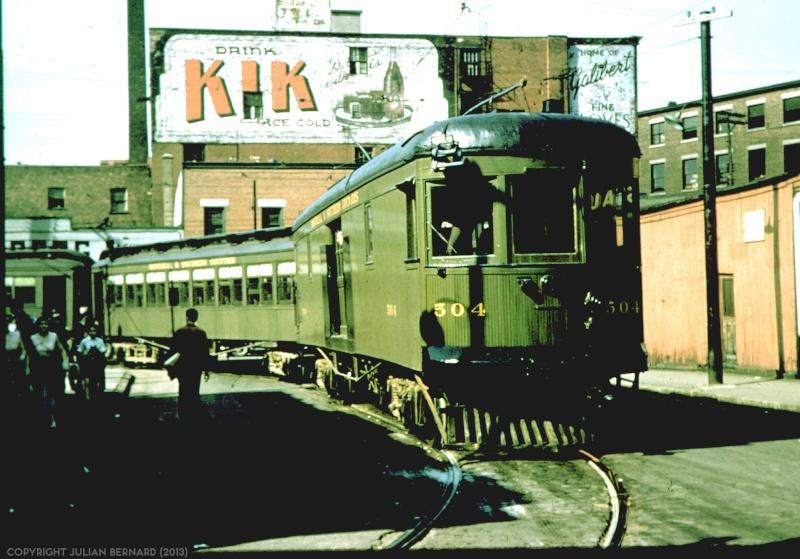 Annonce de Kik sur un mur d'édifice - Montréal - Années 40 Street10